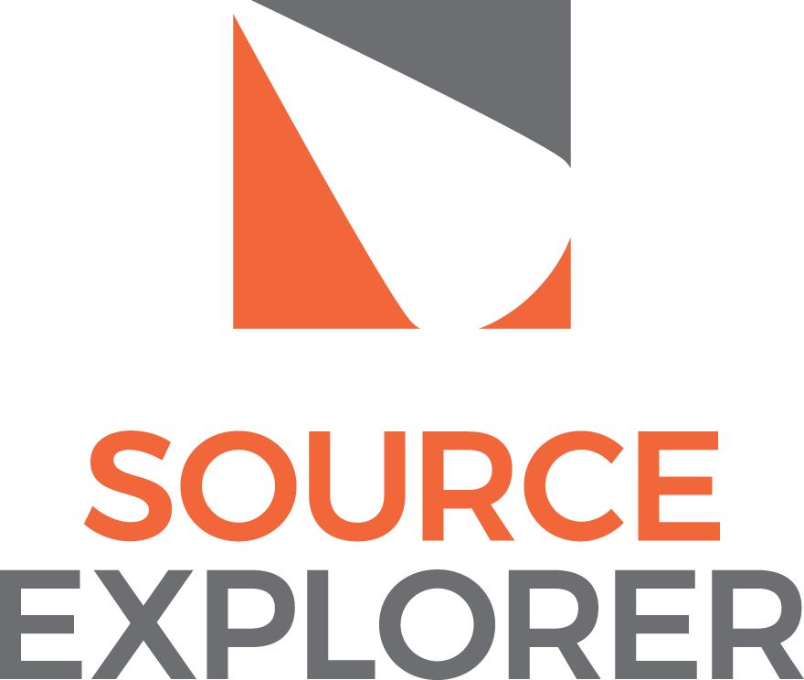 source explorer logo stacked